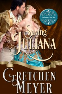Front cover of the novel Saving Juliana by Gretchen Meyer