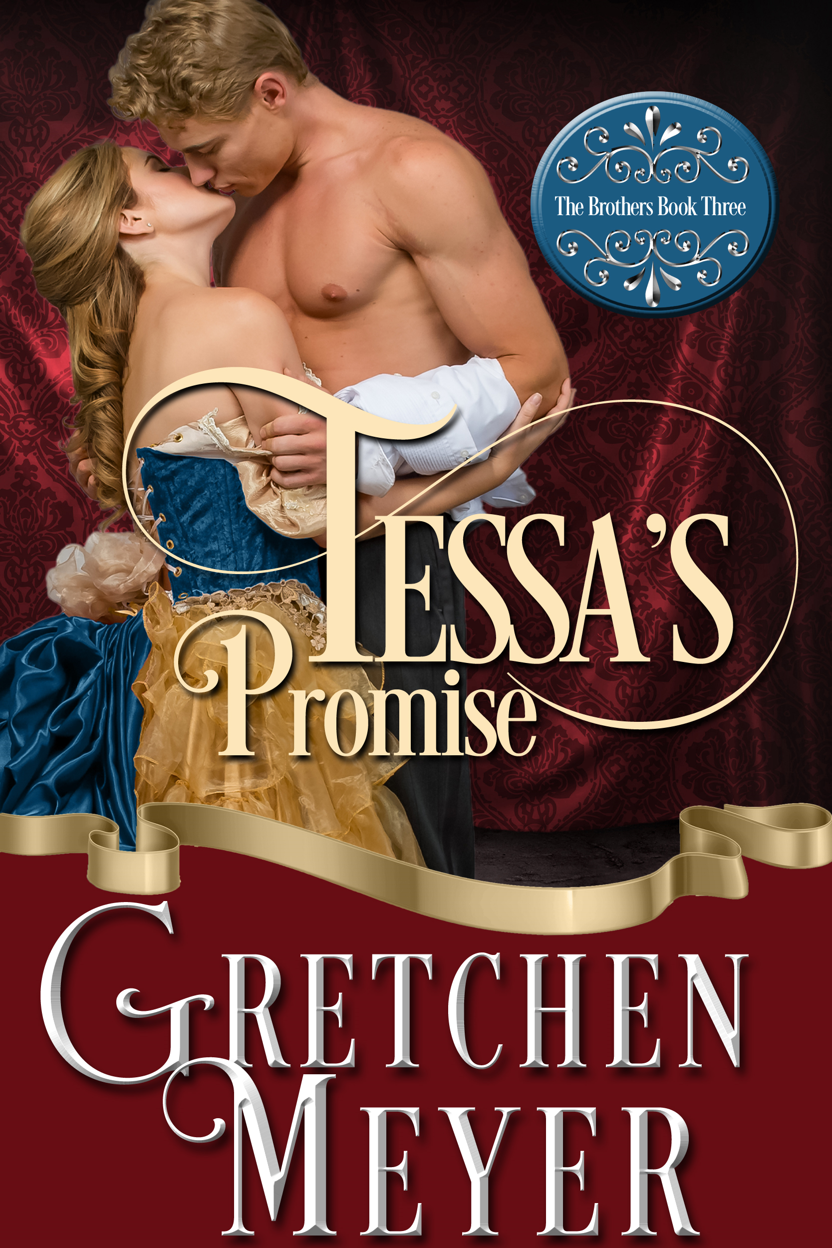Front cover of the novel Tessa's Promise by Gretchen Meyer